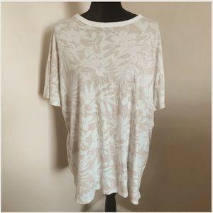 Women's Hawaiian print T-shirt from Aerie